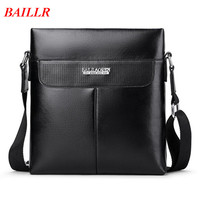 BAILLR Brand Leather Handbag High Quality Men S Bag Messenger Bags Men Leather Crossbody Shoulder Bag
