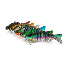 Multi-section lure hard bait bionic 10cm15.8g multi-color optional sea fishing