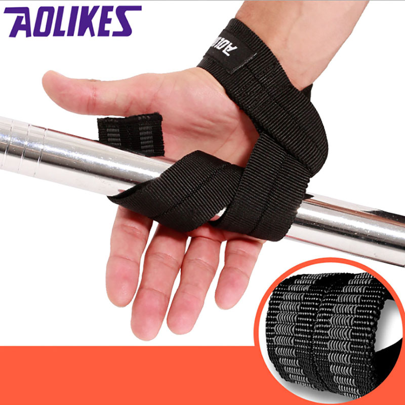 Aolikes1Pair Weight Lifting Hand Wrist belt Support Strap Brace band Gym Straps Weight L ...