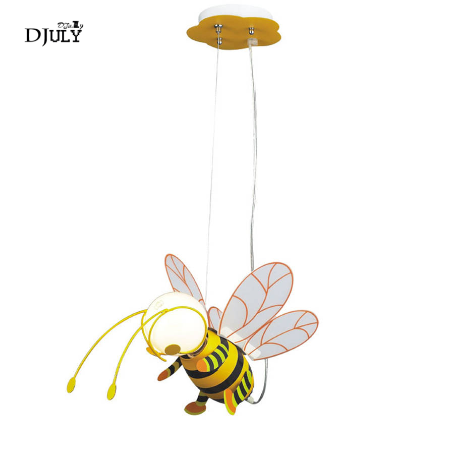 art deco lovely Bees led pendant lights for children bedroom study creative dining room lighting fixtures cartoon kids hang lampart deco lovely Bees led pendant lights for children bedroom study creative dining room lighting fixtures cartoon kids hang lamp