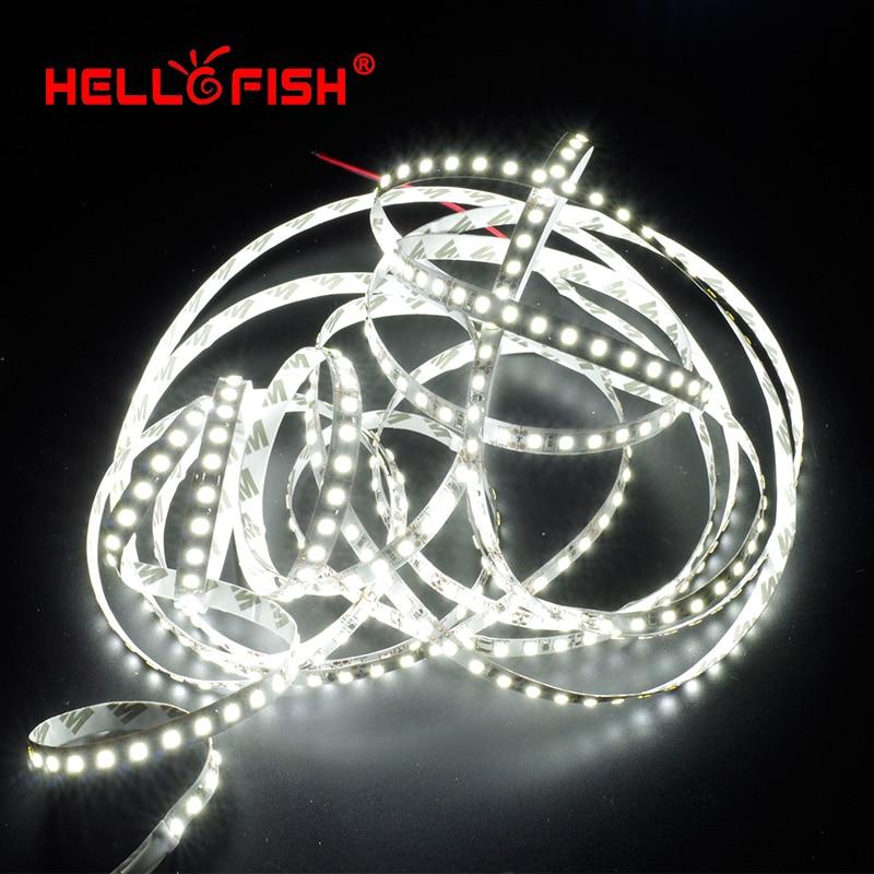 Hello Fish 5M 2835 600 SMD LED sloksne 12V elastīga120 LED gaismas - LED Apgaismojums - Foto 3