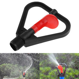 "360 degree Automatic Water Spray 1/2 ""DN15 Plastic Irrigation Sprinkler Garden Nozzle"
