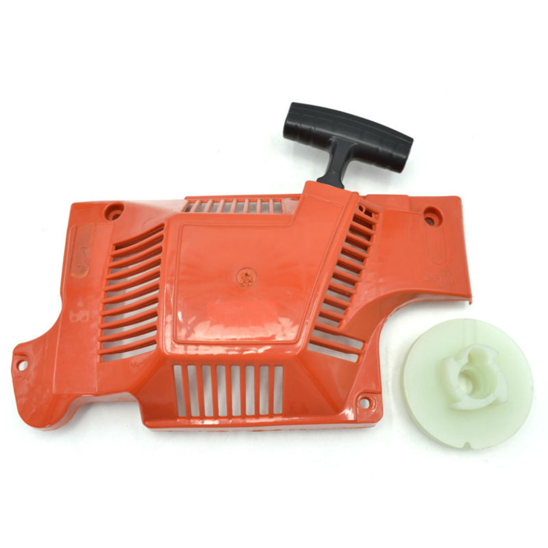 где купить  Chainsaw Recoil Starter Assembly with Pulley Rotor for Husqvarna 51 55 Replaces 503608803  по лучшей цене