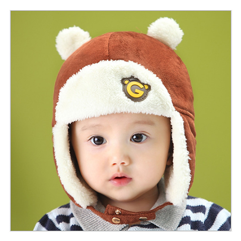 Girls boys winter hats ear muffs cap newborn toddler photography props costume baby hat for children Headband Accessories caps
