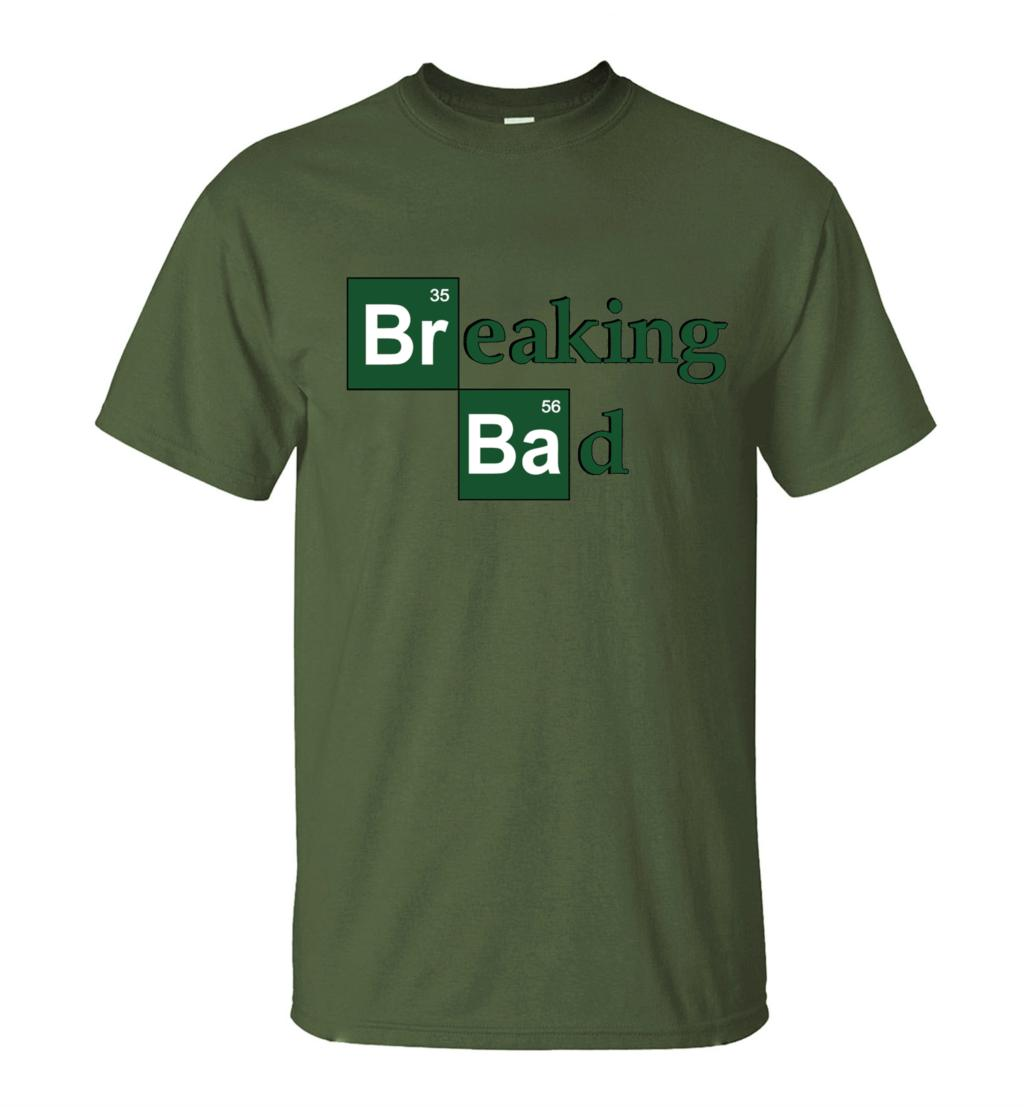 ALI shop ...  ... 32791089165 ... 3 ... Hot Sale Breaking Bad Heisenberg Men T Shirts 2019 Summer Fashion Casual 100% Cotton  T-Shirt Streetwear Slim Fit Top Tees S-3XL ...