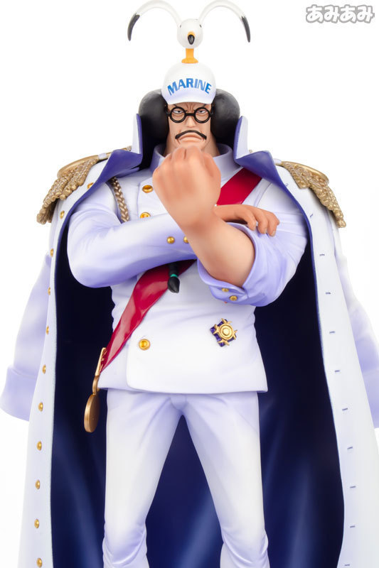 27cm Anime ONE PIECE Naval Headquarters Sengoku P.O.P Figure Model Toys