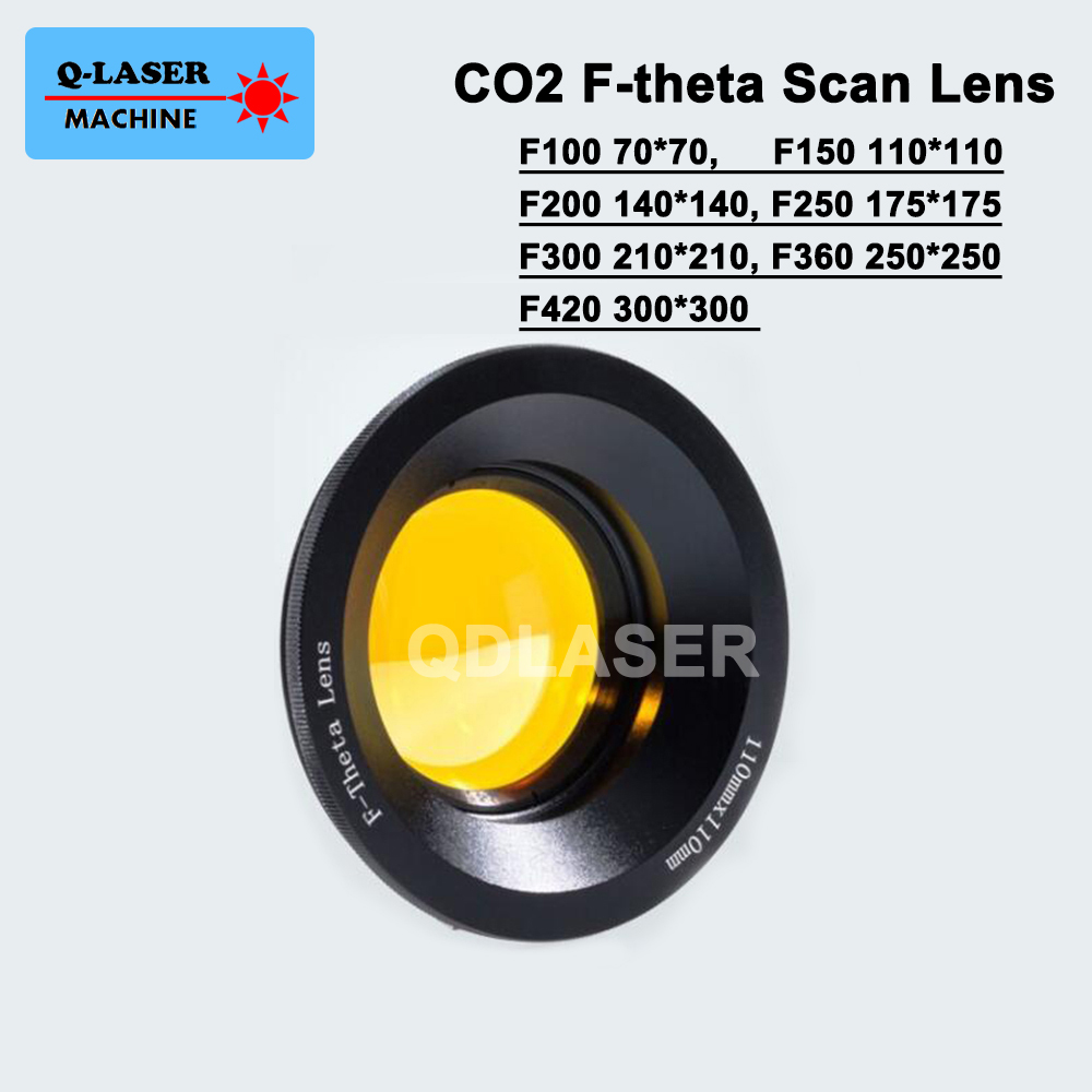 USA CVD ZnSe 10.6um CO2 Laser F-theta Scan Lens System marking machines galvo scanner купить в Москве 2019
