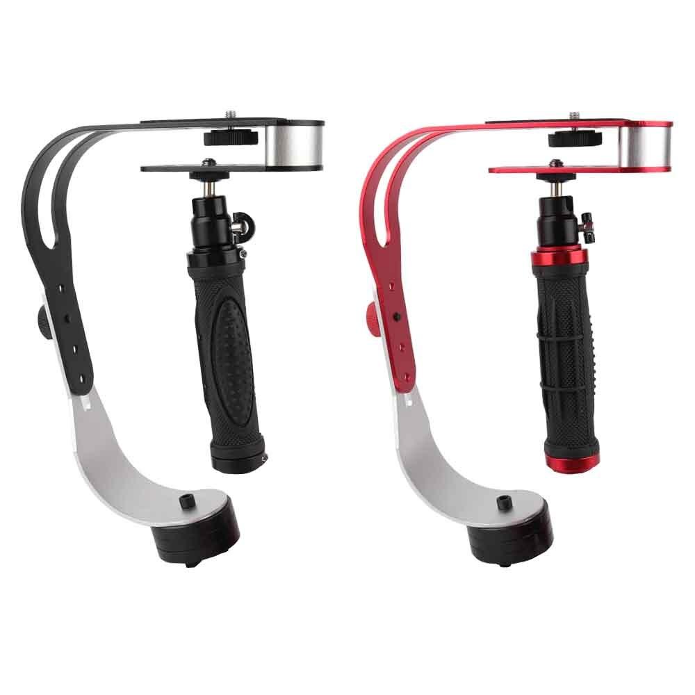 Universal portátil Cámara estabilizador de mano Mini Steadicam para Canon Nikon Sony DSLR Gopro héroe teléfono DV Video