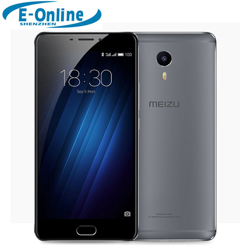"Original Meizu M3 MAX Meilan 4G LTE Cell Phone MTK Helio P10 Octa Core 6.0"" 3GB RAM 64GB ROM 13MP Camera Fingerprint ID"