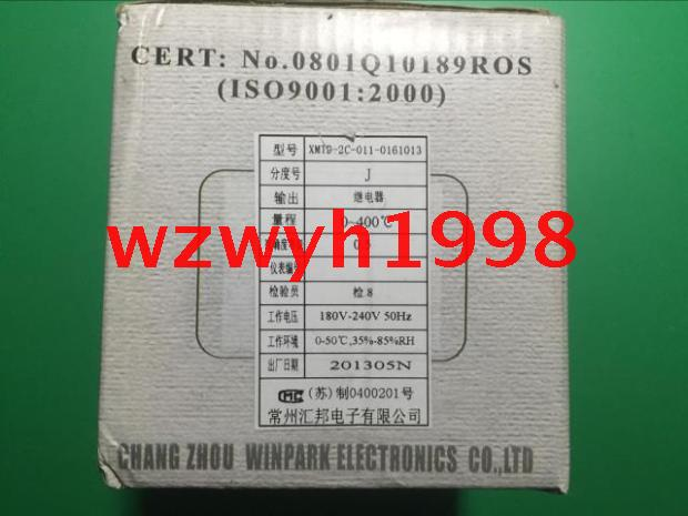 Genuine WINPARK Changzhou Huibang XMT-2C temperature controller J-type thermostat XMTD-2C-011-0161013 genuine winpark changzhou huibang xmtd 2c temperature controller xmta 2c 011 0111013 intelligent temperature control