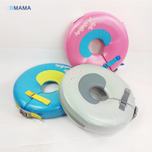 High quality infant free inflatable child safety swimming ring collar baby neck float Swimming pool accessories Bathing toys цены