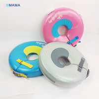 High quality infant free inflatable child safety swimming ring collar baby neck float Swimming pool accessories Bathing toys