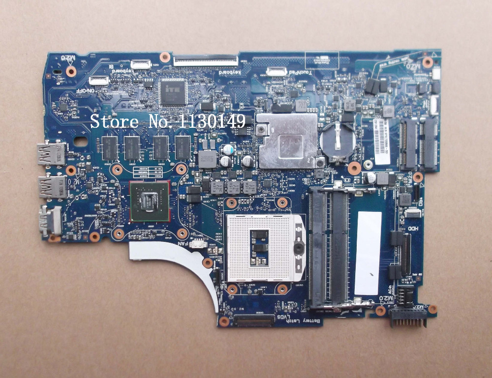 720566-601 720566-501 Free shipping 720566-001 For HP Envy 15 laptop Motherboard Notebook mainboard Video GT740M 2G 720566 001 720566 501 for hp envy touchsmart 15 15 j 15 j053cl mainboard 2gb fully tested working