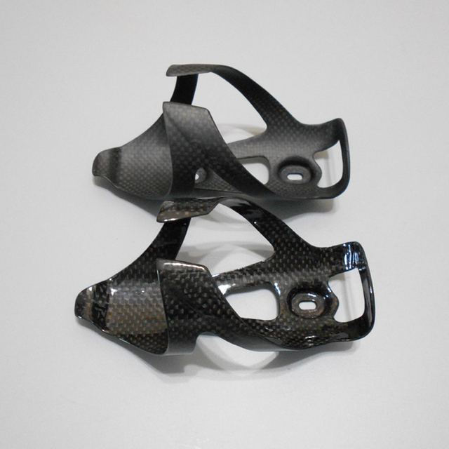 ddb88a83e84 Full Carbon Fiber Bicycle Water Bottle Cag 3K bottle cage MTB Road Bike  Bottle Holder Ultra Light Cycling Can Bike Accessories