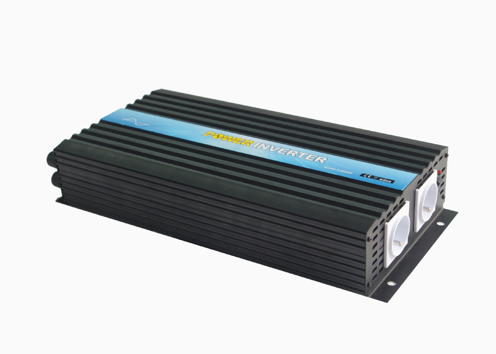 power inverter  2500W pure sine wave DC 24V to AC 230V with remote control