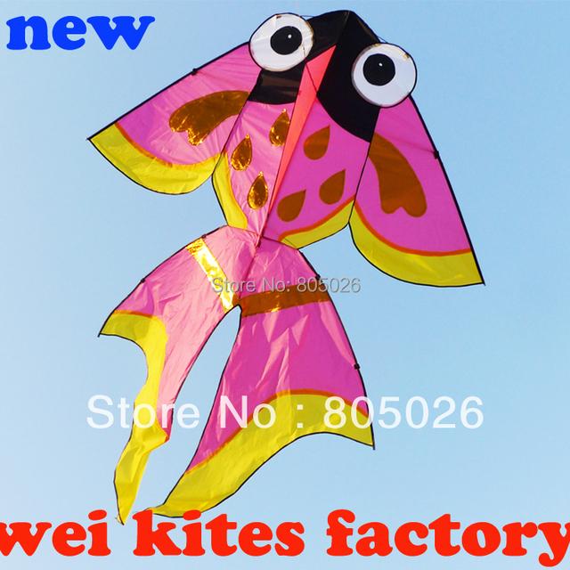 Frete grátis de alta qualidade 2.5 m peixe pipa crianças pipas brinquedos com alça de linefast wei papagaio de papel