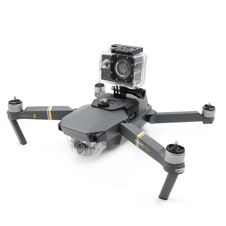 DJI Accessories Top Placed Gopro Sport Action Camera Parts Holder Multifuction for DJI Mavic Pro Foldable RC Quadcopter Drone