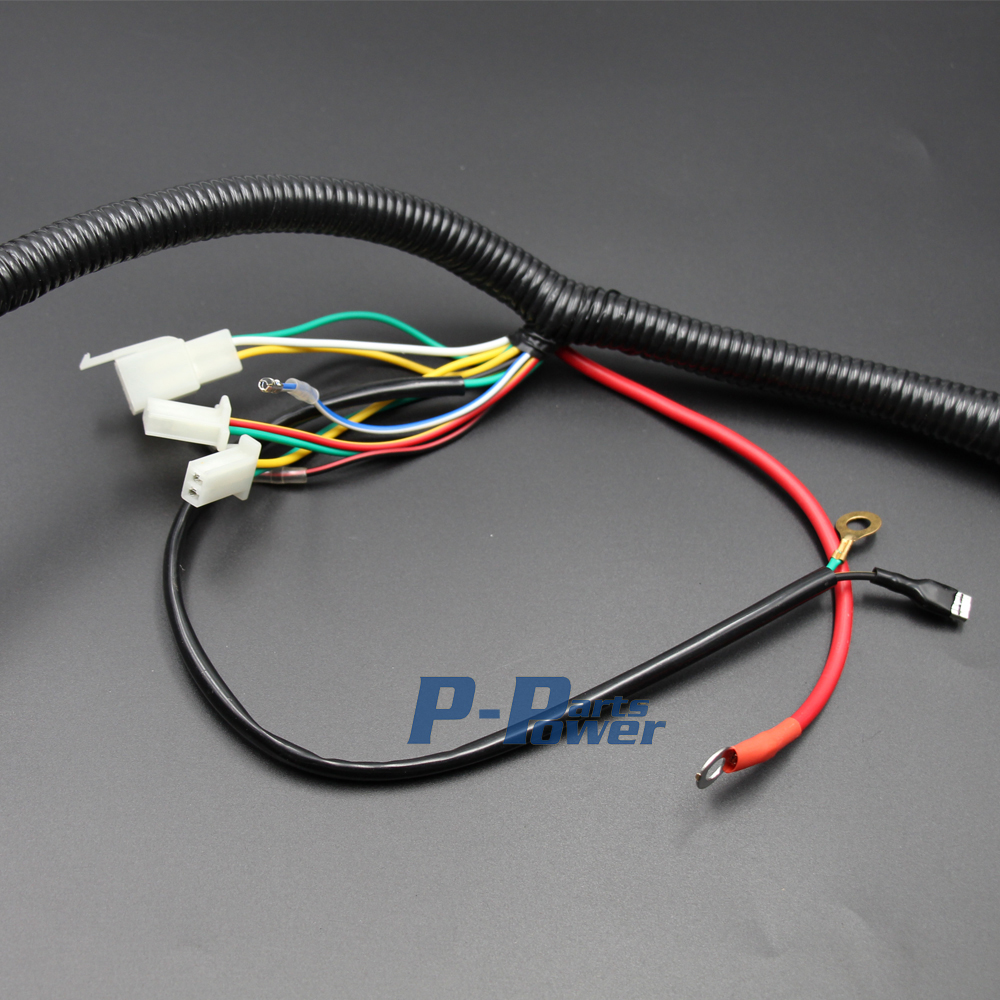 Gy6 Scooter Electrical Wire Harness 150cc And 125cc 4 Stroke Engine Wiring Hot Street