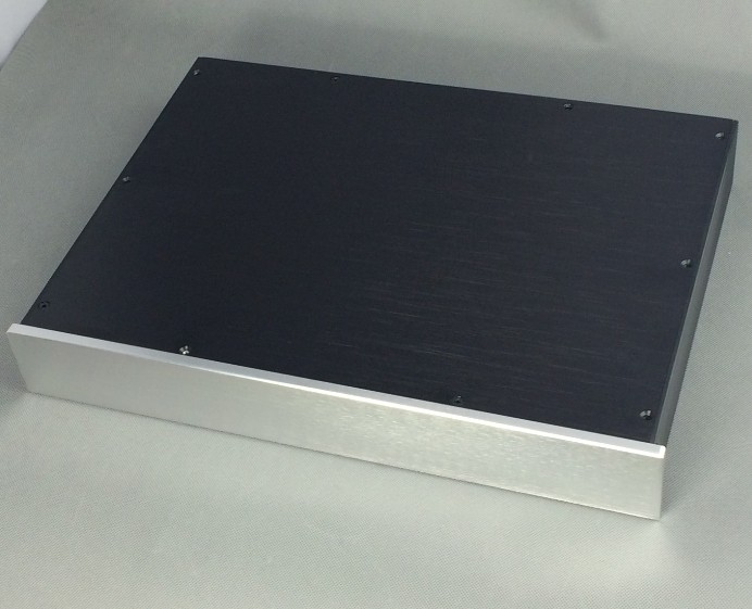 Pre Amplifier Chassis Aluminum Case DAC Amp Shell /DIY home audio amp case preamp amplifier chassis aluminum case dac amp shell diy amp case