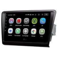 Android 8,0 автомобильный мультимедийный плеер 8 дюймов аудио Радио Видео развлечения я навигация DIN система для Skoda rapid 2013 2018
