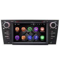 7 HD Quad Core 1024 600 Touch Screen Car DVD Player GPS Navigation For BMW E90