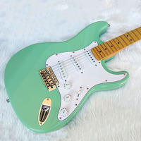 Chinese Electric Guitars New Arrival Musical Instruments Surf Green Maple Fingerboard Free Shipping