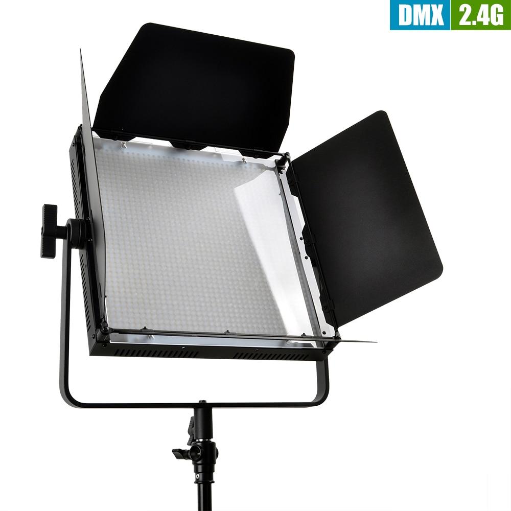 TOLIFO GK-J-1520BA Bi-Color 3200K - 5600K  1520 PCS LED Video Studio Photo Light High CRI + 2.4G Wireless Remote Control