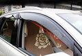 De alta Calidad de Plástico SOL/LLUVIA Protector de la Visera de la Ventana de Ventilación Para Audi Q5 2010-2013