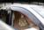 Plástico de alta Qualidade SOL/CHUVA Protetor Janela Viseira Ventilação Para Audi Q5 2010-2013