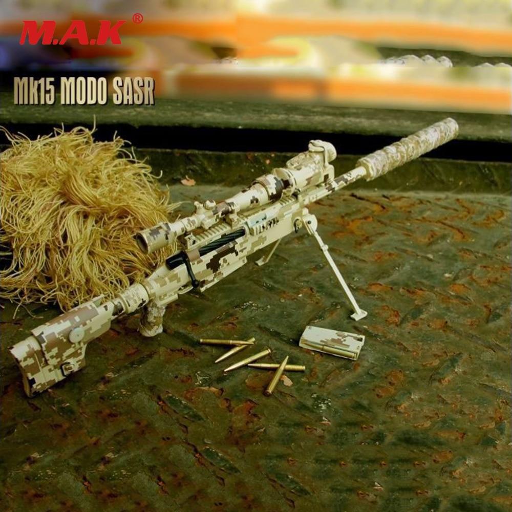 """1/6 Escala Modelo De Pistola Tac-50 Camo Del Desierto Lrsw Rifle De Francotirador Colección Arma De Juguete Modelo De 12 """"figura De Acción Adecuado Para Hombres, Mujeres Y NiñOs"""