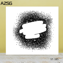 AZSG Sand Painting Clear Stamps/Seals For DIY Scrapbooking/Card Making/Album Decorative Silicone Stamp Crafts