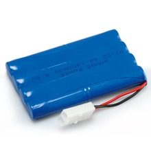 1x Anmas Power 9.6V 1400mAh AA Battery Rechargeable NiCd Batteries Tamiya Plug Remote Controul Toy Lighting