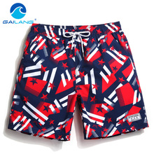 Gailang Brand Board Shorts Beach Swimwear Swimsuits Quick Drying Plus Big Size Active