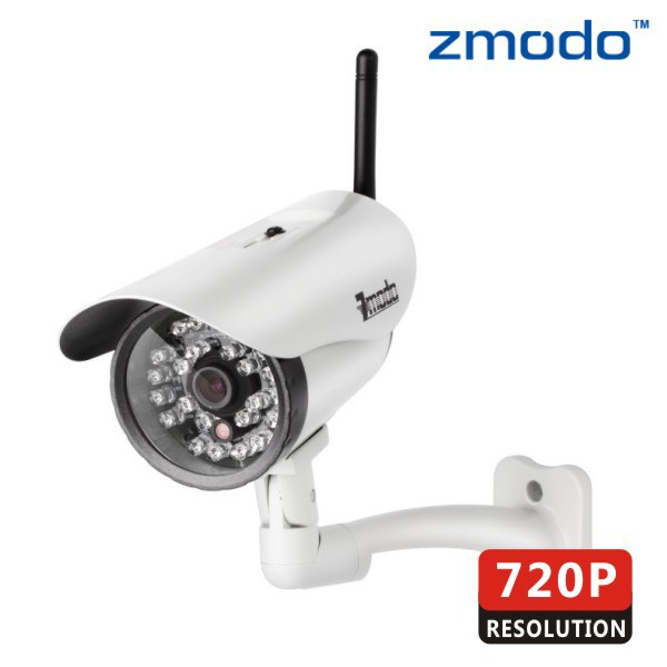 Zmodo HD 720P wireless Wifi IP Bullet security Camera with