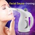2016 Térmica Actualizar Mist Warm Face Skin Renewal Rociador Facial Sauna Spa Vapor Vapor De La Ropa de Viaje de LA UE EE.UU. Plug