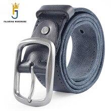 FAJARINA 2017 Mens Designer 100% Pure Real Genuine Leather Belts for Men High Quality Cowhide Material Straps Male Belt N17FJ308