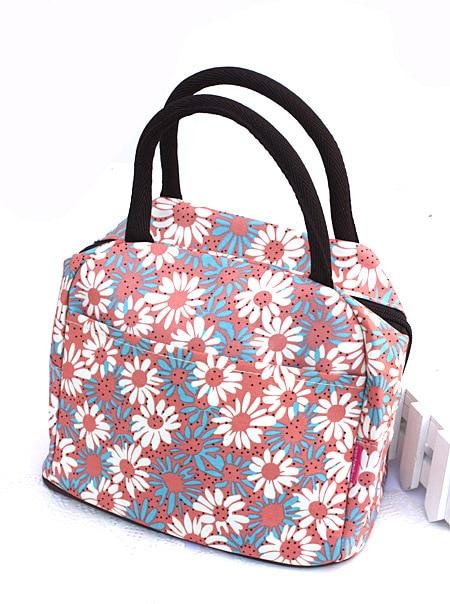 Nylon Fancy Tote Bag Women S Small Cloth Lunch Box Light Casual Handbag