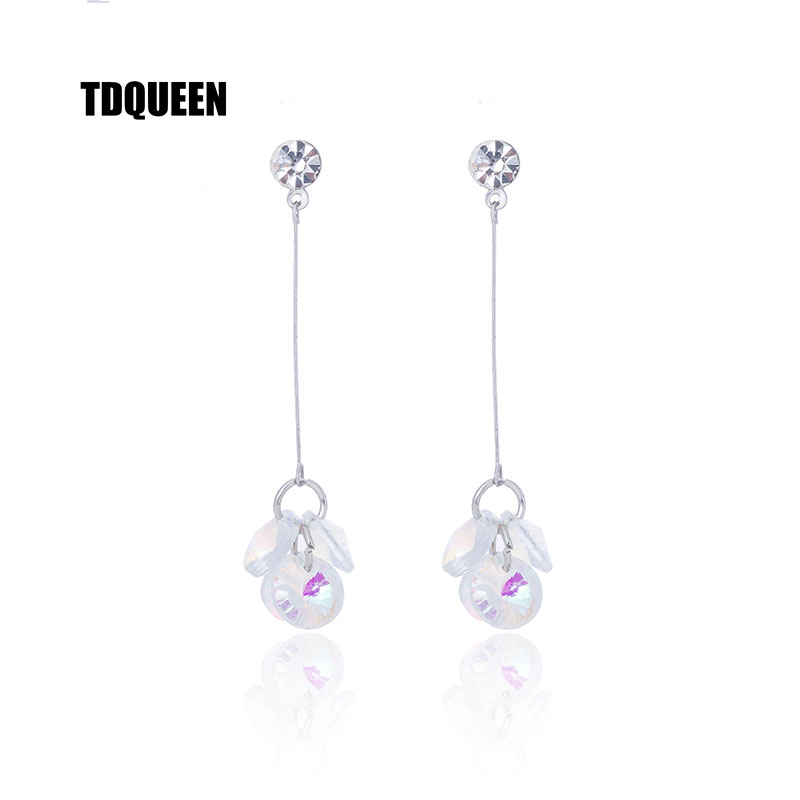 Jewelry & Accessories Sincere 6 Pair Geometry Stud Earrings Fashion Vintage Feather Earring Lady Silver Plated Crystal Cz Ball Jewelry For Women Brincos