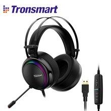 Tronsmart Glary casque de jeu ps4 casque virtuel 7.1, Interface USB casque de jeu pour ps4, nintendo switch, ordinateur, ordinateur portable