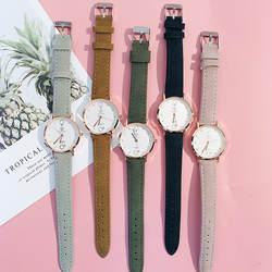 Женские часы с символом и кристаллами, маленький циферблат, женские деловые Простые Модные женские наручные часы с браслетом, кожаный