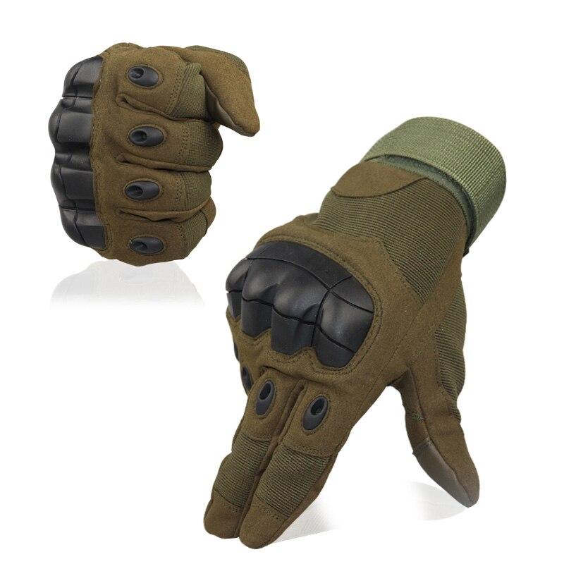 Mens Military Taktische Full FingerGloves Harte Knuckle Handschuhe für Schießen Airsoft Motorrad Outdoor Handschuhe