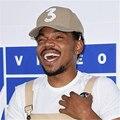 Cáqui Popular Cantor Chance O Rapper 3 Chance Cap Preto Carta Bordado Boné de Beisebol do Hip Hop Streetwear 3D Snapback Chapéus