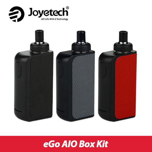 Original caja aio kit joyetech ego 2100 mah batería 2 ml e-jugo atomizador BF SS316 Bobina Todo En UNO aio Vaping Kit ego Kit