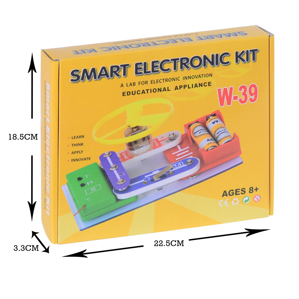 Telecool W 39 Circuits Smart Electronic Block Kit Integrated Circuit For Kids Free Electronics Building Blocks Experiments Educational Learning Toys In From