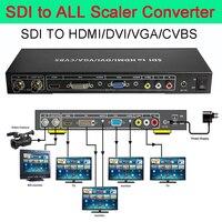 SDI To All Scaler Converter Complete The SDI Signal Converter SDI TO VGA CVBS DVI HDMI