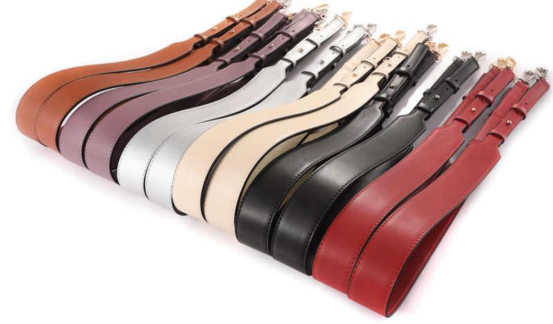 Новая женская кожаная сумка на ремне, модный легко застёгивающийся женский ремень на плечо, шикарная регулирующая рукоятка для женщин, сумка на ремне Q0138