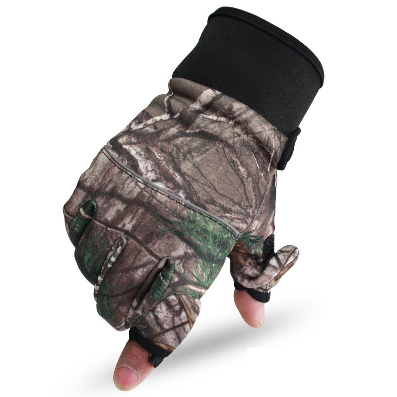 Multicam Tactical Gloves Anti Skid Army Military Airsoft Motorcycle Shooting Paintball Work Gear Winter Camo Full Finger Gloves
