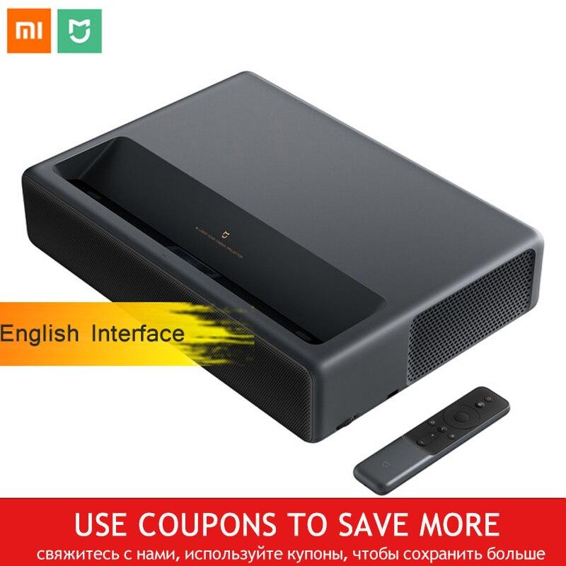 Xiaomi Mijia MJJGTYDS01FM Projetor Laser 4 K 2 GB 16 GB Inglês Interface MIUI TV HDR TV Bluetooth Wi-fi 3D sistema de Home Theater
