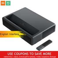 Xiaomi Mijia MJJGTYDS01FM Laser Projector 4K 2GB 16GB English Interface MIUI TV HDR TV Bluetooth WiFi 3D Home Theater System
