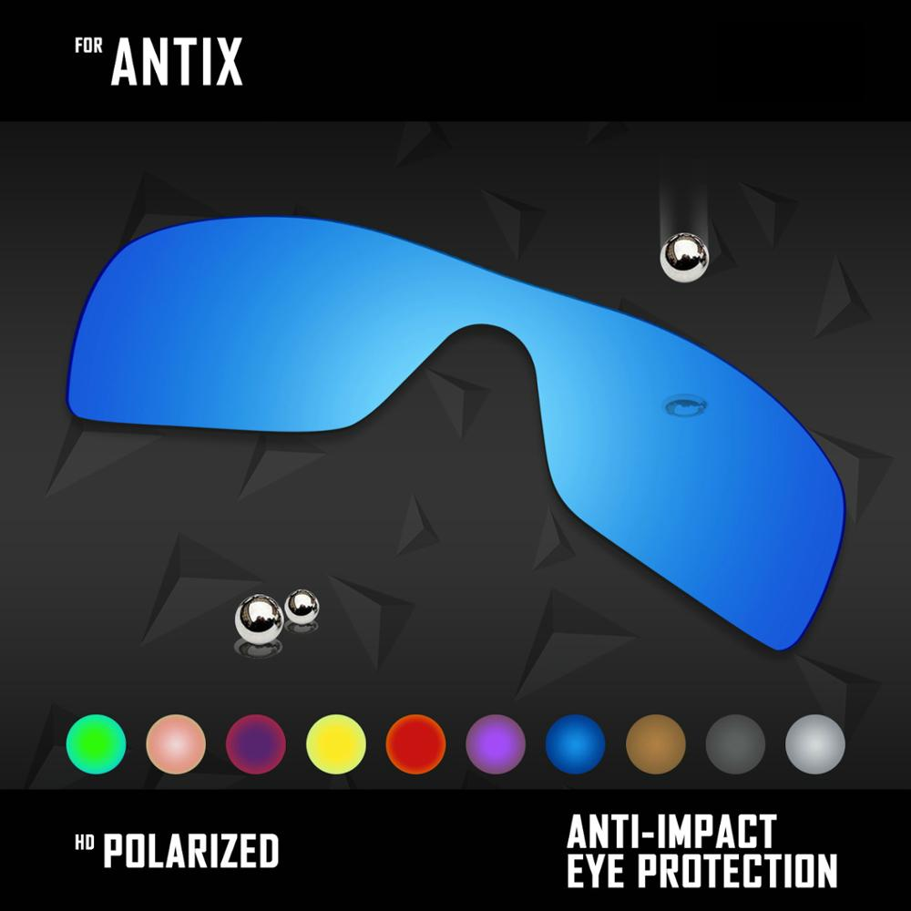 OOWLIT Lenses Replacements For Oakley Antix Sunglasses Polarized - Multi Colors